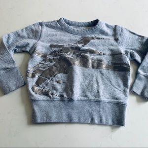 Crewcuts Star Wars sweatshirt